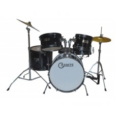 Drum Set GRANITE Rock Black Junior Kit